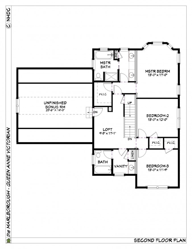 Ridgeview construction the marlborough for Marlborough house floor plan