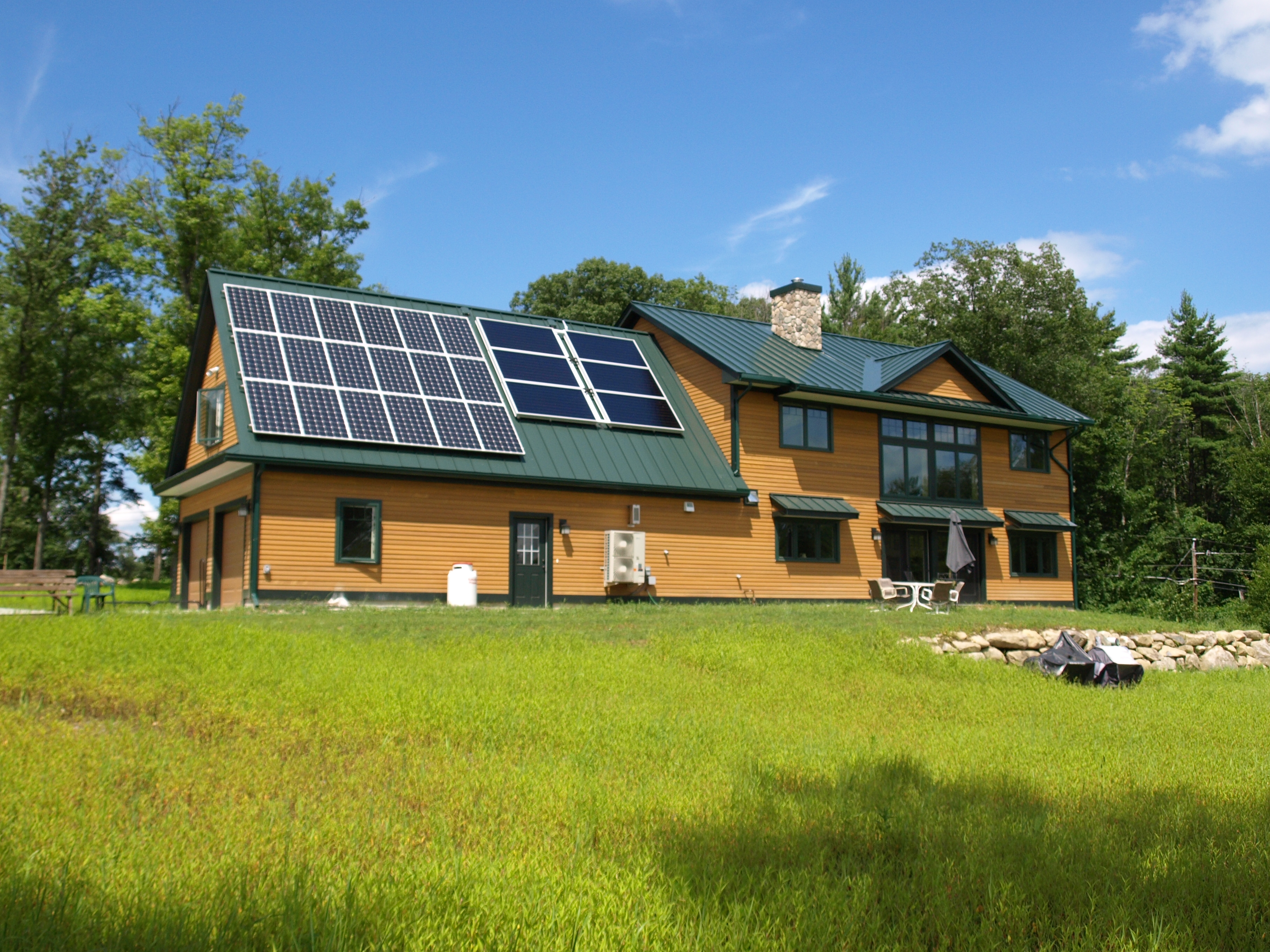 Net zero energy home in nh ridgeview construction for New home construction nh