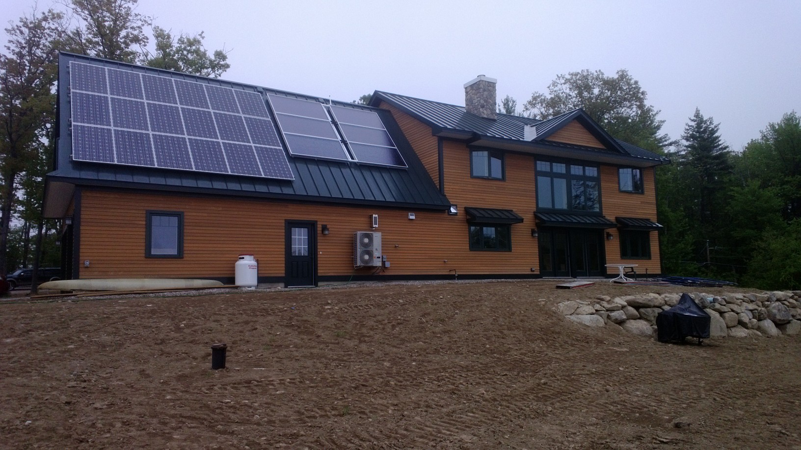 Net zero energy home in nh ridgeview construction for New construction in nh