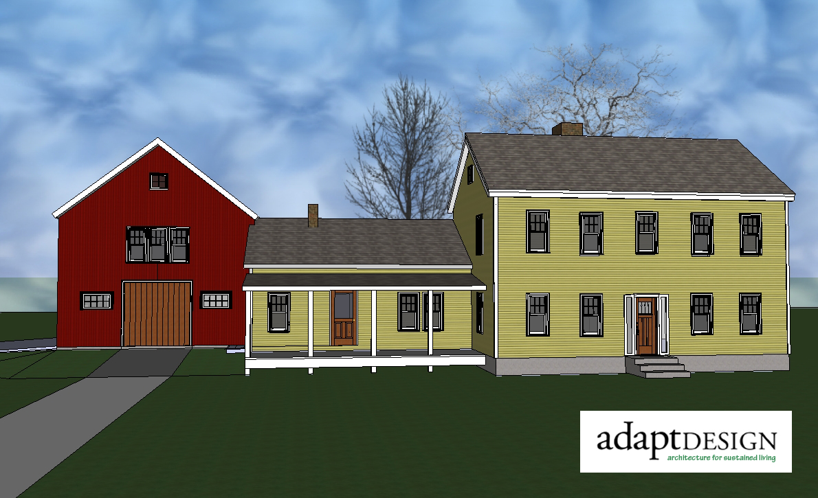 Ridgeview construction farmhouse for Farmhouse building plans photos